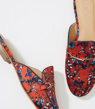 Floral Loafer Slides $74.50 thestylecure.com