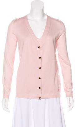 Lanvin V-Neck Long Sleeve Top