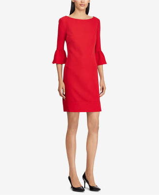 American Living Crepe Bell-Sleeve Dress