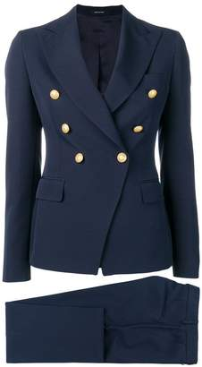 Tagliatore navy formal blazer