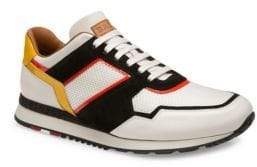 Bally Astreo Round Toe Lace-Up Sneakers