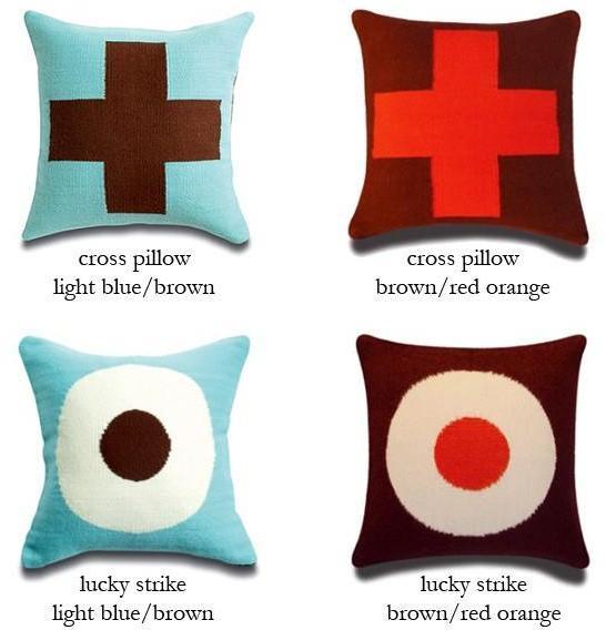 Jonathan Adler - graphic wool pillows by jonathan adler