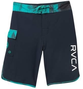 RVCA Eastern Scalloped Hem Board Shorts (Big Boys)