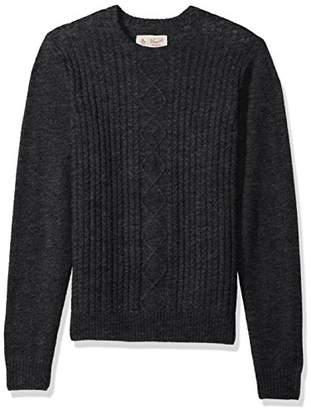 Original Penguin Men's Fisherman's Cable Crew Sweater