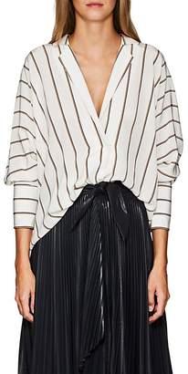 A.L.C. Women's Noreen Striped Silk Blouse