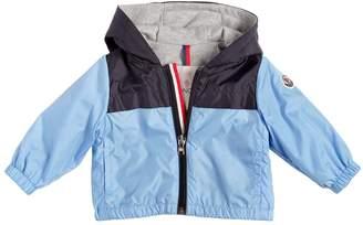 Moncler Two Tone Hooded Nylon Jacket