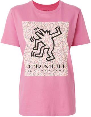 Coach printed logo T-shirt