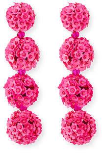 Sachin + Babi Fleur Bouquet Clip-On Earrings