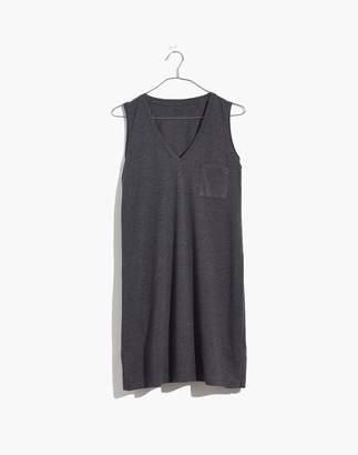 Madewell V-Neck Pocket Tank Dress