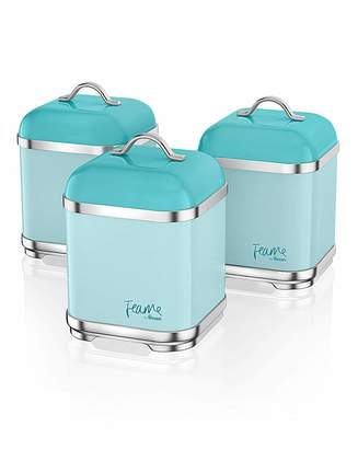 At Fashion World Swan Fearne By Set Of 3 Canisters