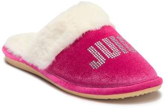 b6ee3b05955 at HauteLook · Juicy Couture Gabi Crystal Faux Fur Slipper (Women)