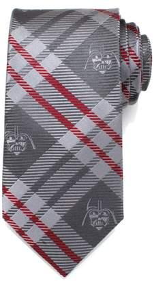 Cufflinks Inc. Cufflinks, Inc. Star Wars(TM) Darth Vader Plaid Silk Tie