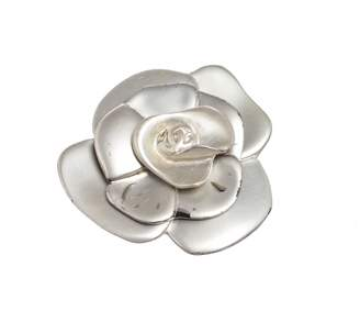 Chanel Vintage Silver Metal Pins & brooches