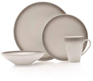 Mikasa Theo Gray 16-Piece Dinnerware Set