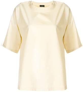 Joseph shoulder buttoned T-shirt