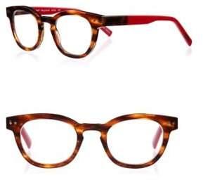 Eyebobs Waylaid 87 46MM Round Reading Glasses