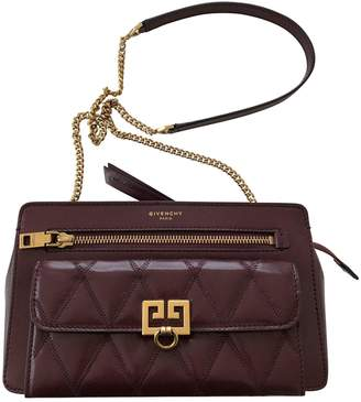Givenchy Burgundy Leather Bags For Women - ShopStyle UK 3feda7b01767c