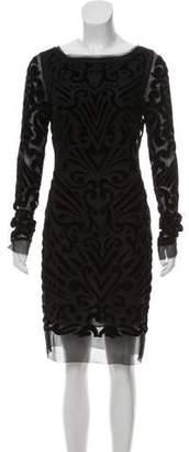 Emilio Pucci Embellished Velvet Dress