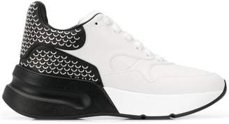 Alexander McQueen patterned oversized sneakers