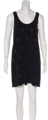 Elizabeth and James Crepe Embellished Dress w/ Tags