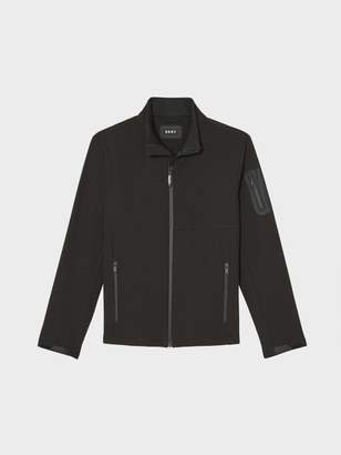 DKNY Soft Shell Stand Collar Jacket
