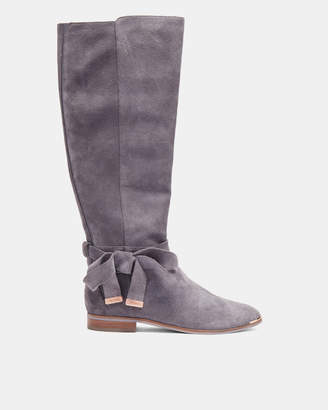 Ted Baker ALRAMI Suede knee high boots