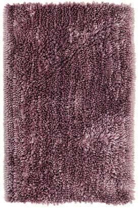 Nicole Miller Home Dynamix Radiance Shag Popcorn Chenille Microfiber Bath Mat Bedding