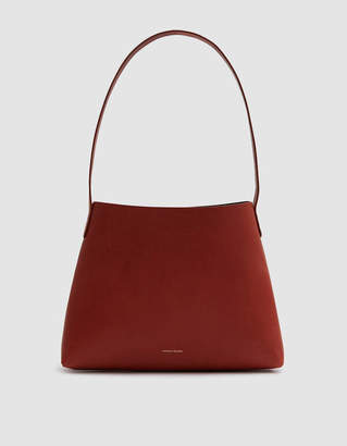 Mansur Gavriel Small Hobo Bag in Brandy / Avion
