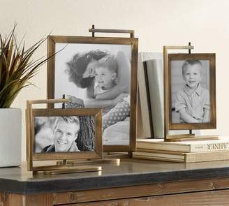 Pottery Barn Riley Brass Turning Frames