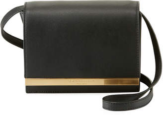 Donna Karan Mally Leather Flap Crossbody Bag