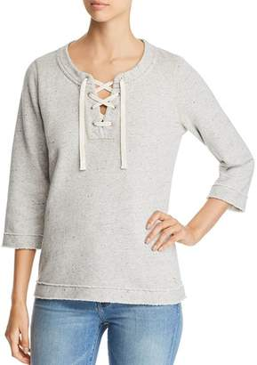 Tommy Bahama Sparkling Sands Lace-Up Top