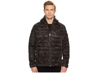 Save the Duck Camo Hooded Stretch Men's Coat