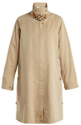 Burberry Crowhurst Cotton Trench Coat - Womens - Beige