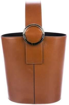 Tara Jarmon Leather Bucket Bag