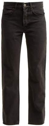 Raey 1970s Slim Leg Jeans - Womens - Black