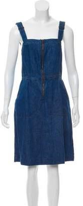 Levi's Knee-Length Denim Dress w/ Tags