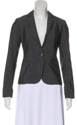 Theory Long Sleeve V-Neck Blazer