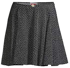 Solid and Striped Women's Polka Dot Circle Skirt
