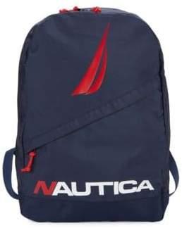 Nautica Diagonal Zip Backpack