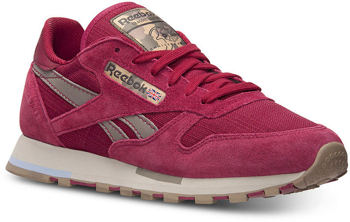 Reebok Women's Classic Utility Casual Sneakers from Finish Line
