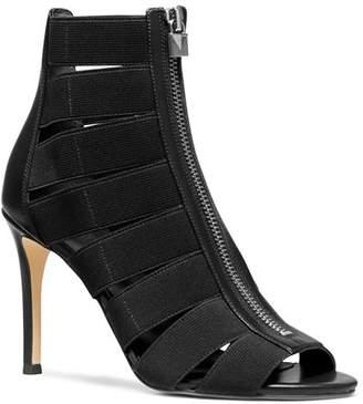 MICHAEL Michael Kors Women's Margaret Cage High-Heel Sandal Booties
