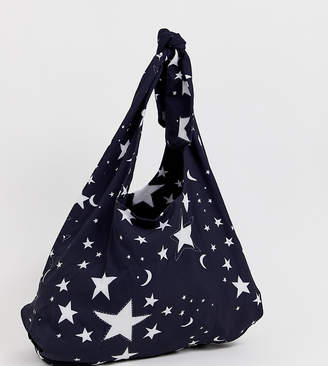 Asos Made In Made In Kenya slouchy shopper in star print