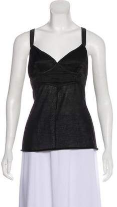 Marc Jacobs Sleeveless Cashmere Top
