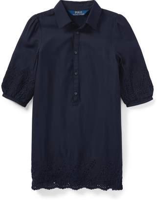 Ralph Lauren Eyelet Challis Shirtdress