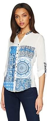 Desigual Women's Blue empaty Shirt