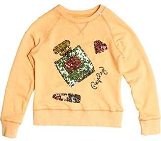 Replay Girl's Sweatshirt - Yellow