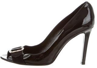 ValentinoValentino Embellished Patent Leather Pumps