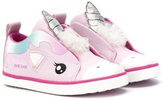 Geox Kids unicorn sneakers