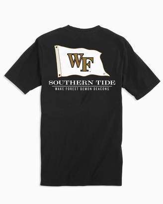 Southern Tide Gameday Nautical Flags T-shirt - Wake Forest University