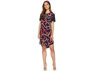 Paul Smith Ribbon Print Shirtdress Women's Dress